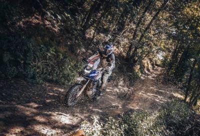 Renato Zocchi su Honda CB500X vince la Alps TT International