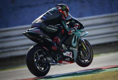 Quartararo il più veloce nelle FP1 di Misano 2, KTM in ripresa