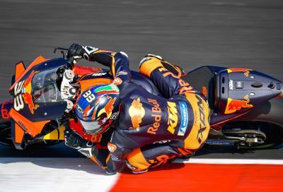 KTM rinate a Misano: Binder al top nelle FP2. Dovizioso in difficoltà