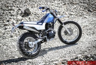 La Yamaha TW125 di Dragoni Motociclette