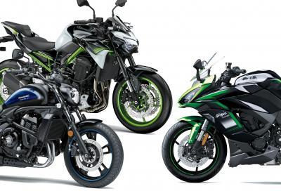 Kawasaki svela le nuove livree 2021