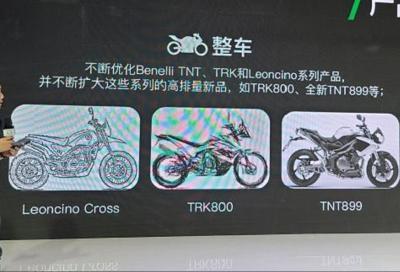Benelli: in arrivo Leoncino Cross, TNT899, Imperiale 500 e TRK800