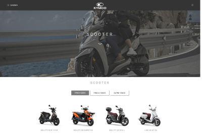 È online il nuovo sito di Kymco