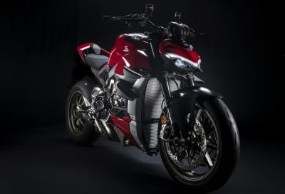 Accessori Ducati Performance per la Streetfighter V4