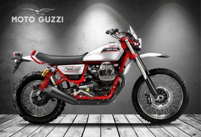 Moto Guzzi Stornello 850, scrambler moderna