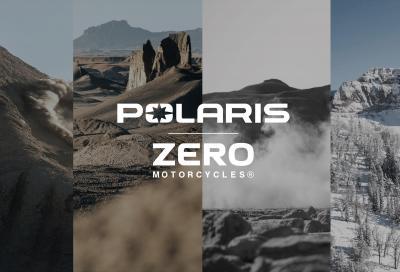 Polaris con Zero Motorcycles per lo sviluppo di nuovi veicoli elettrici