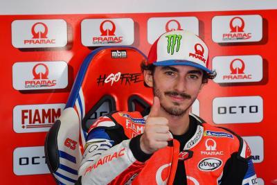 Ducati ha scelto: Bagnaia nel team ufficiale. Martin in Pramac con Zarco