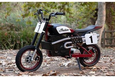 Indian eFTR Jr, l'elettrica per i motociclisti del futuro