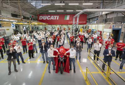 Parte la produzione della nuova Ducati Multistrada V4