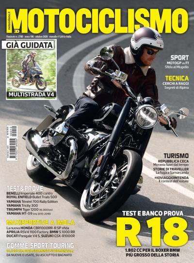 Motociclismo di ottobre 2020 è in edicola