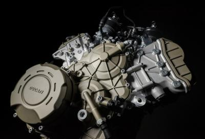 Multistrada V4, la cilindrata cresce a 1.158 cc