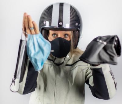 Nuovo Dpcm 7 ottobre, in moto serve la mascherina?