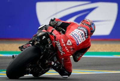 Nel caos di Le Mans la spunta Petrucci, Marquez secondo