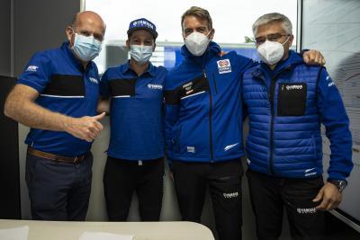 Locatelli in SBK con il Team Yamaha