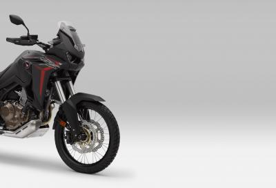 "Honda brevetta l'Africa Twin ""Turbo"""