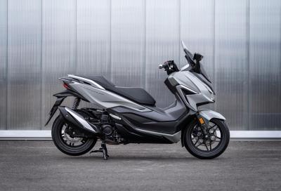 Nuovo Honda Forza 350: più potenza e dotazione arricchita