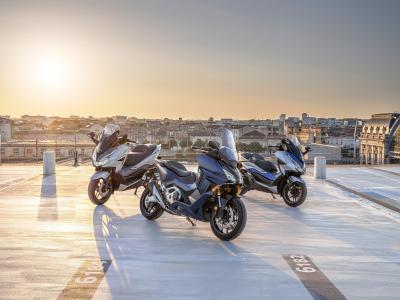 La nuova gamma Honda Forza 2021: 125, 350 e 750