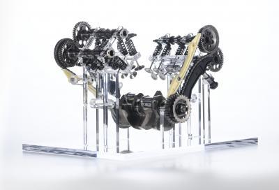 Ducati svela il nuovo propulsore V4 Granturismo
