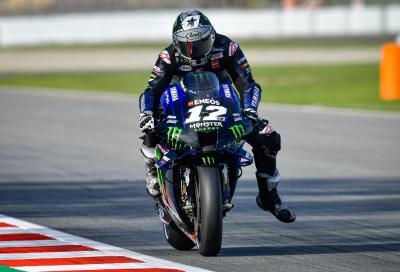 Viñales, Morbidelli, Quartararo: Yamaha al top nelle FP1