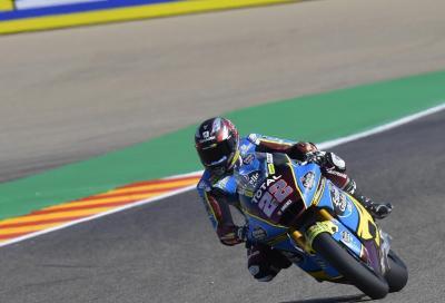Moto2: Lowes il più veloce nelle qualifiche di Aragon. Marini 7°