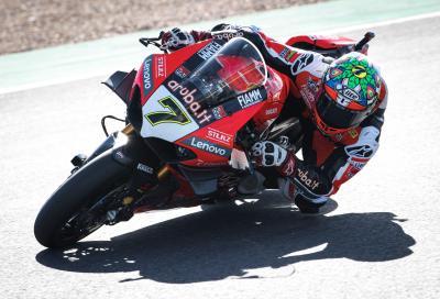 Davies saluta Ducati regalandogli l'ultima vittoria stagionale