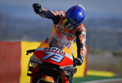 """Marquez: """"Per andar forte con la Honda devi essere un pilota completo"""""""