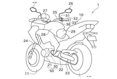 Kawasaki al lavoro sul motore ibrido