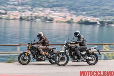 Ducati Scrambler 1100 Sport PRO vs Triumph Scrambler 1200 XC