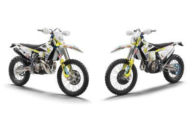 Husqvarna presenta le nuove TE 300i e FE 350 Rockstar Edition