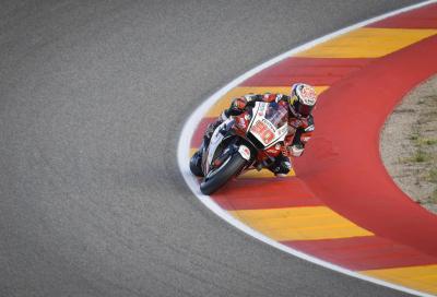 Ad Aragon Nakagami conquista la sua prima pole in MotoGP