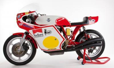 MV Agusta / Magni, la replica della moto di Agostini