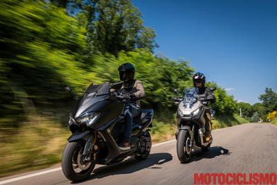 Honda X-ADV vs Yamaha TMAX Tech Max