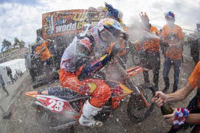 Tim Gajser e Tom Vialle campioni del mondo motocross 2020