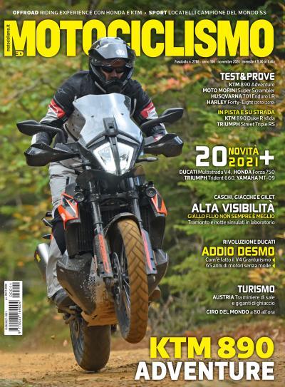 Motociclismo di novembre 2020 è in edicola