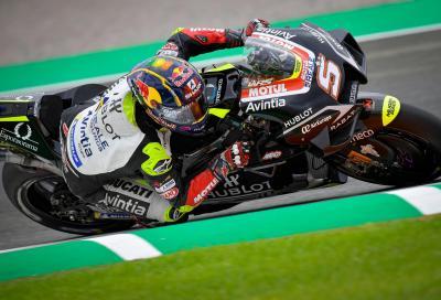 Zarco al top nelle FP3 di Valencia, Rossi in Q1
