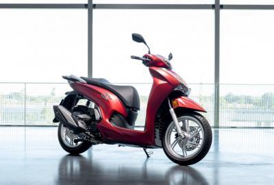 Honda presenta il nuovo SH350i
