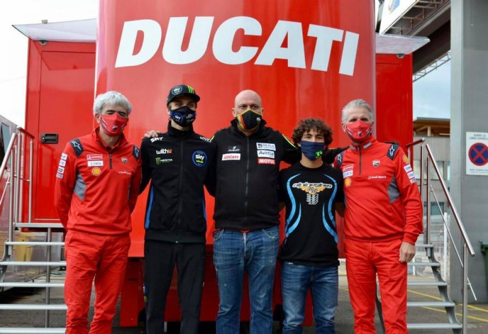MotoGP UFFICIALE Bastianini-Marini per Esponsorama Racing nel 2021