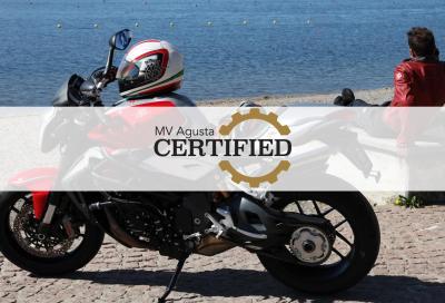 MV Agusta Certified, l'usato garantito dalla Casa