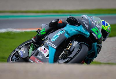 Morbidelli in pole a Valencia, Mir ultimo nelle Q2