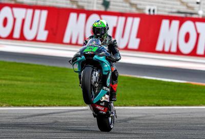 A Valencia Morbidelli vince la gara, Mir il Titolo Mondiale