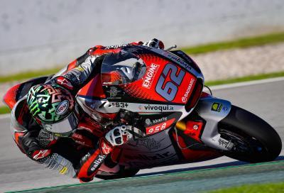 Moto2: a Valencia prima pole per Manzi e MV Agusta