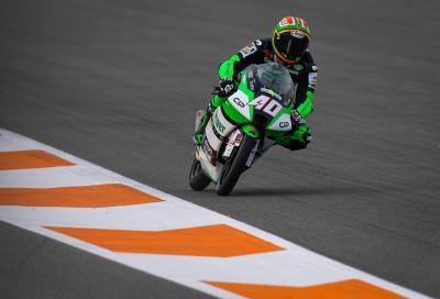 Moto3: pole position con record a Valencia per Binder