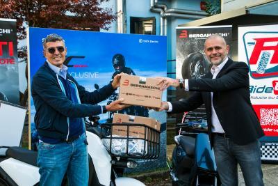 Partnership tra Vmoto Soco Italia e Bergamaschi per la mobilità green