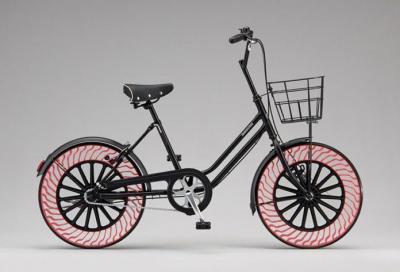 """Pneumatici Bridgestone """"senz'aria"""", si comincia dalle bici"""
