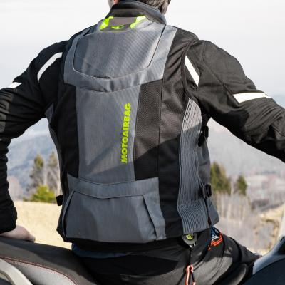 Motoairbag, protezione attiva in 80 millisecondi