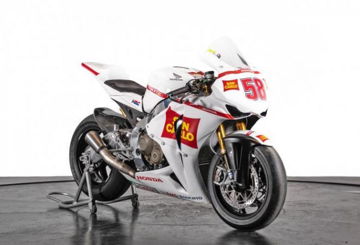 In vendita una Honda CBR 1000 RR usata da Marco Simoncelli