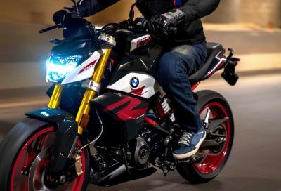 BMW G 310 R: dotazione migliorata e motore euro 5