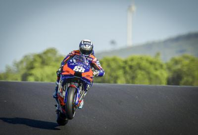 L'ultima pole position della MotoGP 2020 va a Oliveira