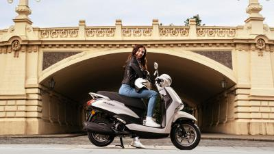 Yamaha svela il nuovo D'elight 125