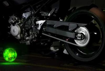 La moto ibrida di Kawasaki prende forma